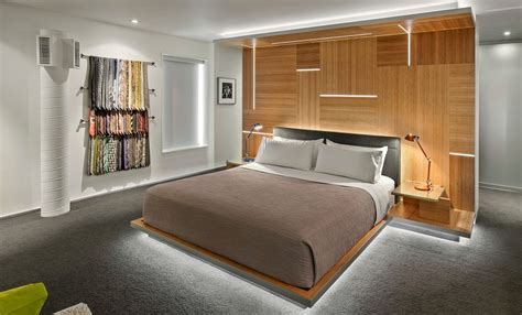 The Makings Of A Modern Bedroom : Floating Beds Elevate Your Bedroom Design To The Next Level