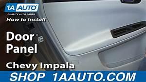 How To Remove 2007 Maserati Quattroporte Door Panel