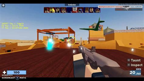 Now you have script copied you will need a roblox hack to execute the script now, you can head over to natevanghacks to find your. JUGANDO ARSENAL CON |HACKS| 🐱💻#1 - YouTube