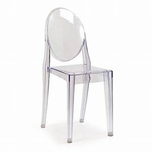 Chaise Ghost Transparente Achat Vente Chaise Violet