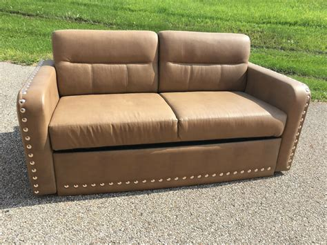 Sofa Beds With Air Mattress by 2015 Villa International Rv Sofa Air Bed Ultraleather