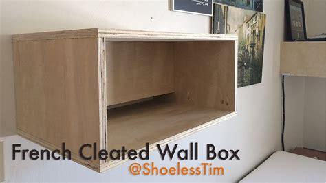 hfww french cleat wallbox youtube