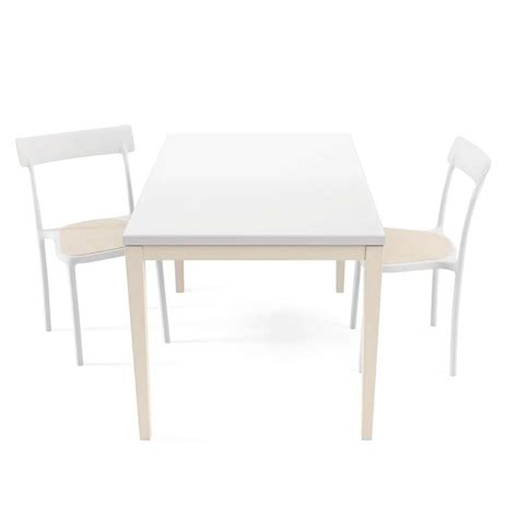 table de cuisine blanche avec rallonge table de cuisine en verre avec rallonge bois 4