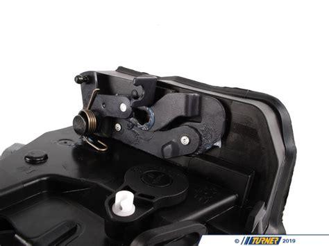 door bmw right front latch x5 e53 genuine lock actuator motor