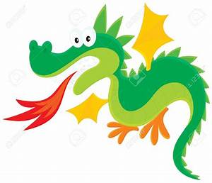 Dragon Breathing Fire Clipart (67+)
