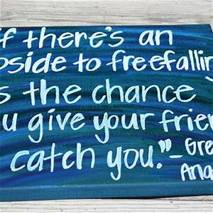 Grey's Anatomy Quote on 12x12 Canvas by from HandyQuotes on