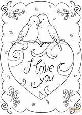 Coloring Pages Card Printable Valentines Sheets Sheet St Guardado Desde sketch template