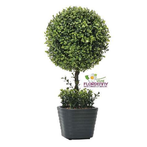 bosso in vaso verdemax alberino di bosso in vaso artificiale art5695