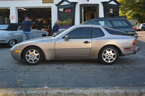 porsche 944 silver 1988 porsche 944 turbo s silver rose german cars for