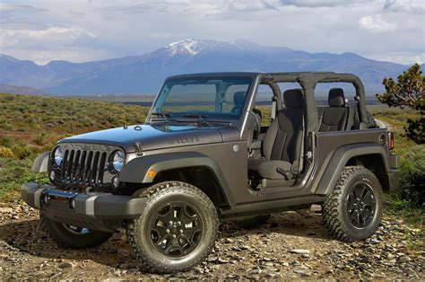 new jeep truck 2014 2014 jeep wrangler willys wheeler edition review auto