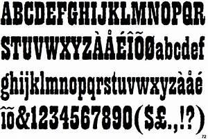 Identifont - Playbill Antique