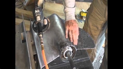 outdrive service repair corrosion damage  paint