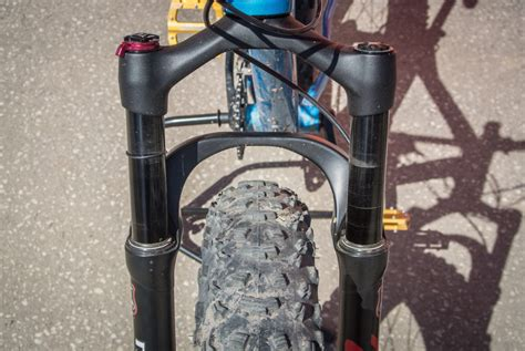 fat bike fork  town  manitou mastodon