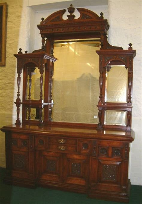 antique sideboards with mirrors mirror backed sideboard 145010 4131