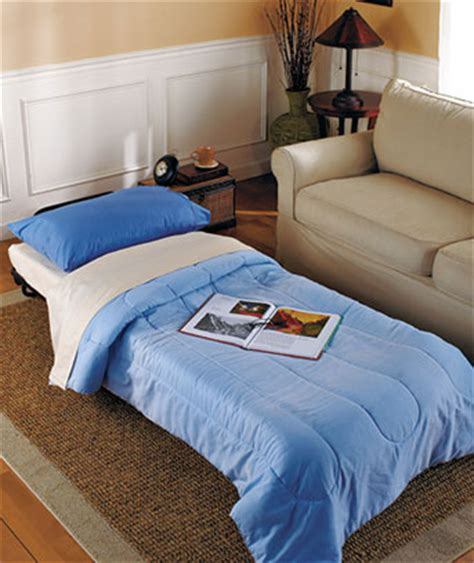 Fold Out Ottoman Bed by Fold Out Sleeper Ottoman Portable Bed For The