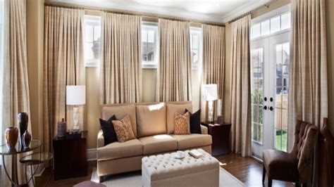 extra wide window panels living room window treatments