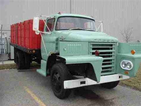 Purchase Used 1965 Dodge D500 Farm Grain Truck Roll Off