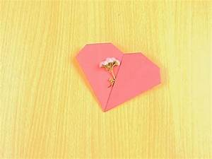 How to Make an Origami Pocket Heart: 11 Steps (with Pictures)
