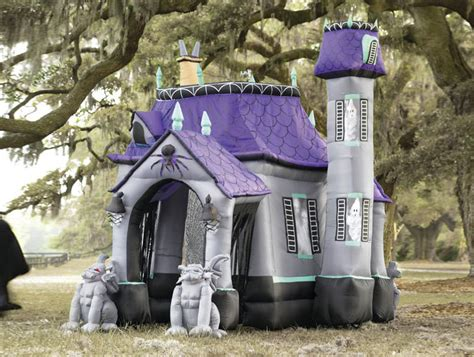 Gemmy Inflatable Halloween House by Inflatable Halloween Haunted House The Green Head