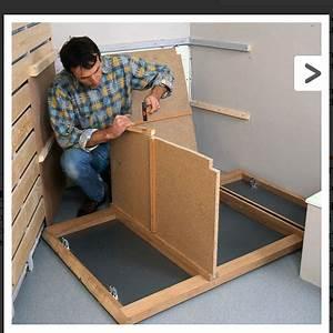 comment fabriquer soi meme un meuble pour le lavabo With meuble de cuisine a faire soi meme