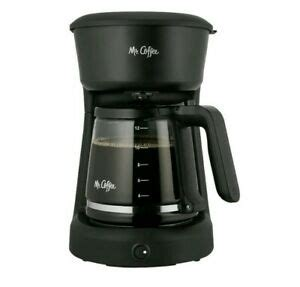 Easy lift and clean filter basket; Mr. Coffee 12 Cup Coffee Maker with Easy on/off LED Switch, Black   eBay