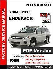 manual repair free 2006 mitsubishi endeavor interior lighting mitsubishi endeavor repair manual ebay