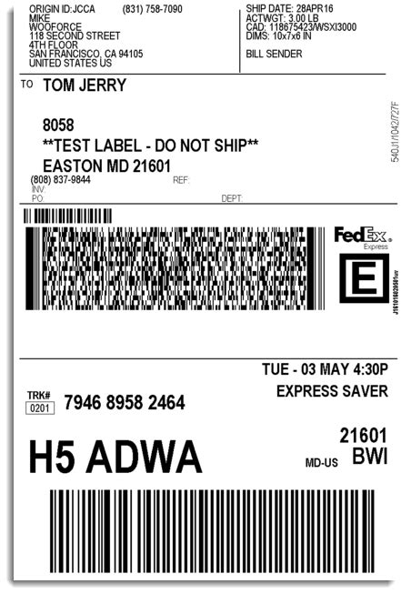 WooCommerce FedEx Shipping Plugin with Print Label - XAdapter