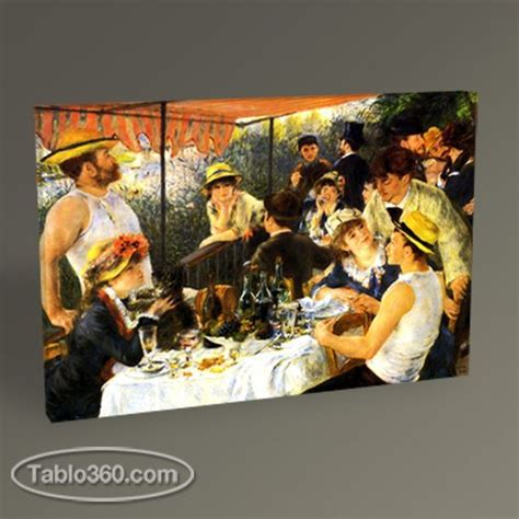 Pierre Auguste Renoir Boating Party by Pierre Auguste Renoir The Luncheon Of The Boating Party