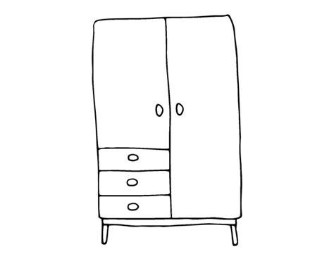 Closet Coloring Page Coloringcrewcom