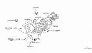 2002 Nissan Frontier Transmission Diagram