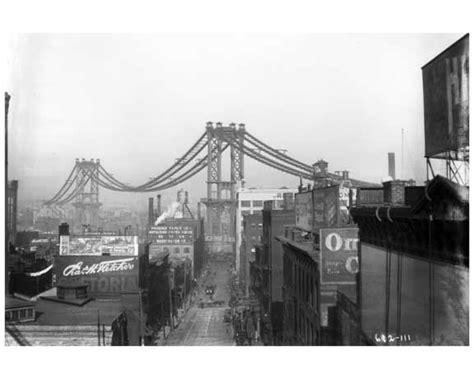 Manhattan Bridge View North West From Washington Street