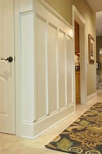 Board and Batten Hallway - Traditional - Hall - cincinnati