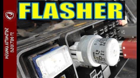 el flasher  circuito electrico basico de direccionales