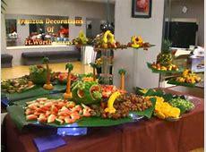 DFW Franzua Decorations Decorated Fruit Table YouTube