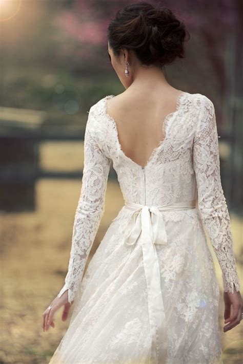 gallery for gt lace wedding dress with sleeves