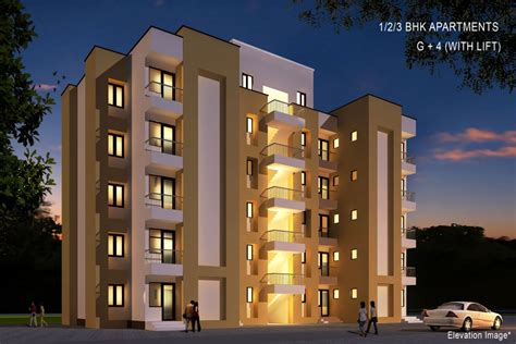 four floors of elevation images krish property in bhiwadi