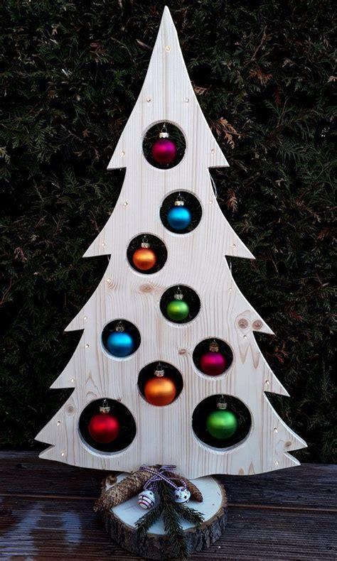 weihnachtsbaum holzdeko er led advent weihnachtsdeko