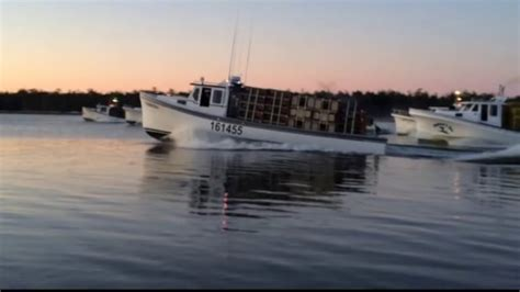 Lobster Boat For Sale Nb by Ready Go Set Lobster Season Opens In Northern N B New