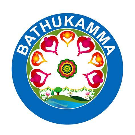 bathukamma festival  logo   fesitival