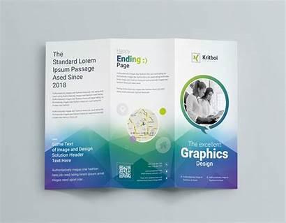 Brochure Fold Tri Template Professional Corporate Templates
