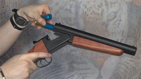 airsoft shotgun double barrel wa shan mm version