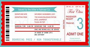 pics for gt train ticket template printable With train ticket template word