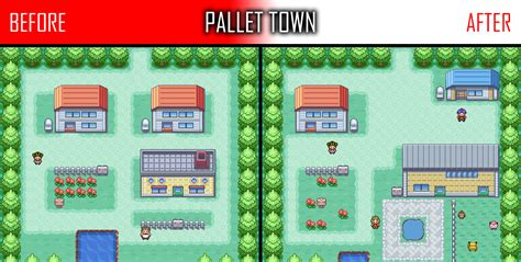 Map Pallet Town By Raizhuw The Real On Deviantart