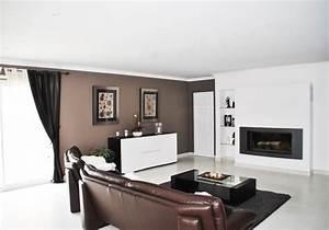 Décoration salon couleur taupe Exemples d'aménagements