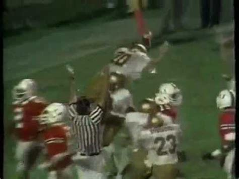 today marks 31 days until kickoff let us remember 12 point underdog ohio state upsetting miami today marks 63 days until kickoff let us remember the 63 yards doug flutie threw the last