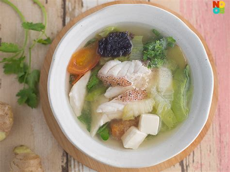 fish soup grouper recipe singapore recipes chinese noobcook hawker read healthy