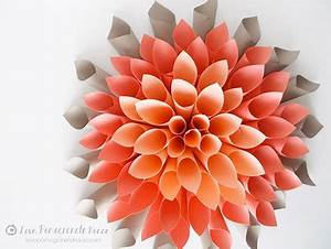 Einfache Papierblume Basteln : papierblumen basteln aus krepppapier seidenpapier ~ Eleganceandgraceweddings.com Haus und Dekorationen