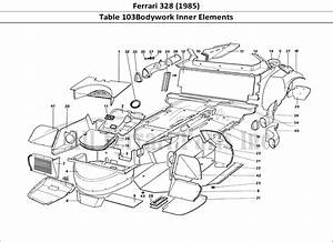 Buy Original Ferrari 328  1985  103bodywork Inner Elements