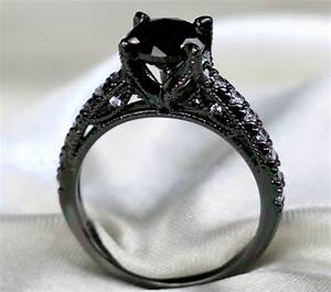 Popular onyx engagement rings buy cheap onyx engagement for Onyx wedding ring sets