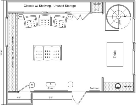 house plans with media room media room remodel need floor plan feedback avs forum